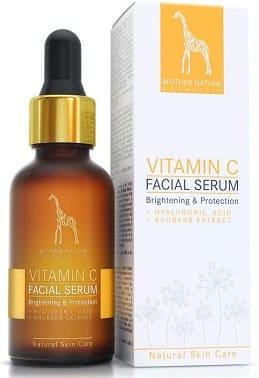 mother nature facial serum c