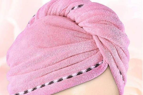 Toalla microfibra para pelo